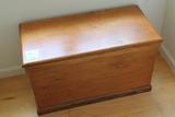 Vintage Pine Lift Top Box