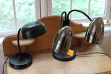 (2) Bedside Lamps and Alarm Clock