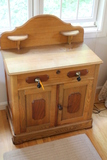 Victorian Oak and Walnut Commode