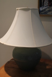Simon Pierce Glazed Pottery Table Lamp