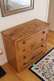 Victorian Pine 4 Drawer Bureau