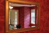 Bevelled Framed Mirror
