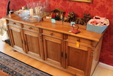 Country Pine Sideboard 4 drawers over 4 doors