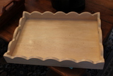 (3) Wood Trays