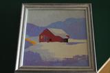 Adrian Patnaude Acrylic on Canvas Painting
