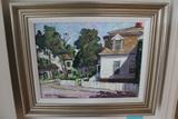 Alden Bryan Oil on Board Painting
