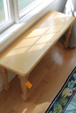 Hardwood End Table