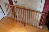 (2) Wood Safety Gates