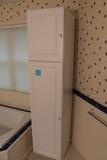 White 2 Door Utility Cabinet