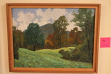 Henry Trask Riley Oil on Masonite Painting