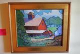 Barbara Spencer Oil on Masonite Painting