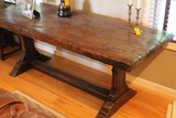 Heavy Antique Continental Tavern Table