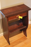 Hardwood Stand with Drawer