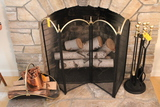 Lot of Fireplace Items