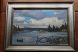 Alden Bryan Oil on Aluminium Panel Painting