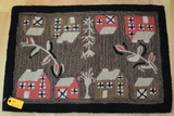 Chandler Four Corners Laura Negoz Design Wool and Cotton Wool Rug