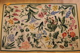 Claire Murray Botanical Hooked Wool Rug