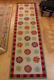 Susan Sargent Hooked Wool Rug