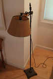 Vintage Iron Standing Lamp