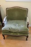 Continental Wood Framed Arm Chair