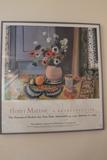Framed Matisse Exhibition Poster