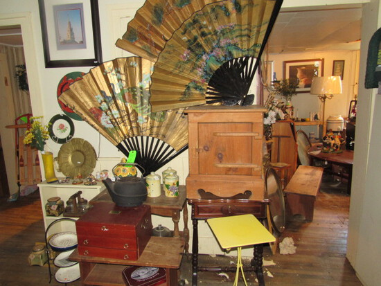 Assorted Household, Decorative & Wood Furniture Pieces