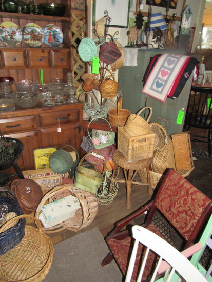 Wicker Baskets & Other Items