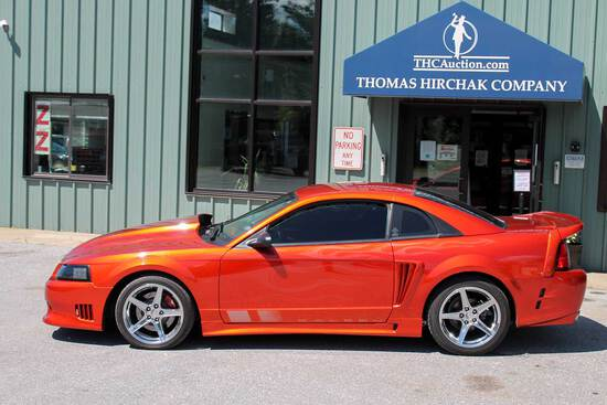2002 Ford Mustang Saleen Edition 2-Door Coupe