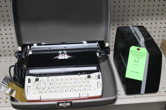 Sears Portable Typewriter, Argus Vintage Projective