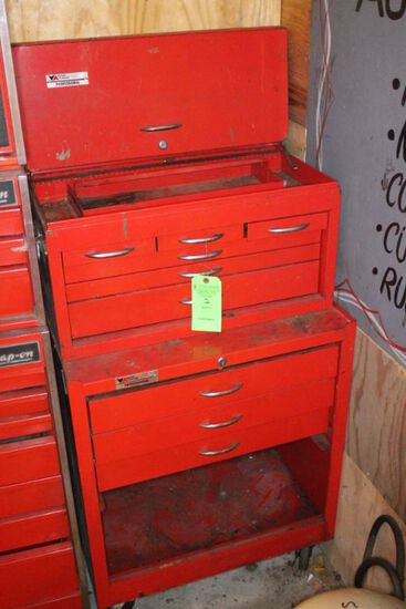 Vermont American 2 Part Rolling Toolbox w/ (9) Drawers