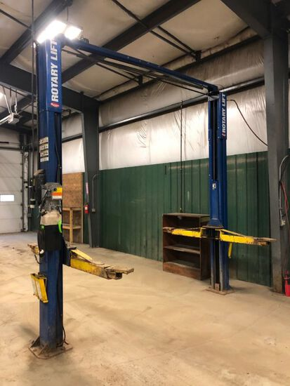 Rotary 10,000Lb. 2-Post Lift