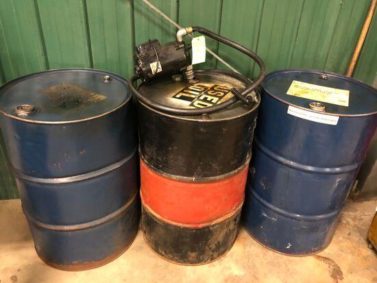 (3) Oil Barrels
