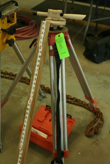 David White Builder's Lever with Tripod and Pole