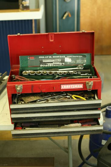 Craftsman Tool Box and Quantity of Good Hand Tools