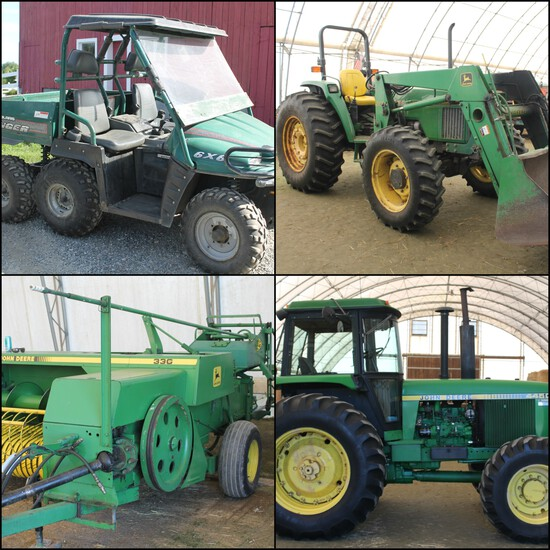 John Deere Tractors & Horse Farm Equipment