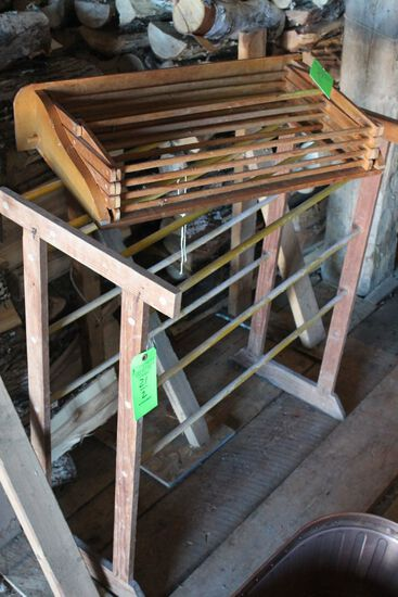 (2) Wooden Drying Racks