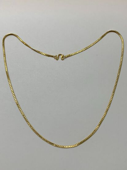 .9999 Yellow Gold Oriental Necklace