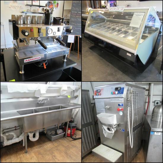 Ice Cream/Gelato Shop Furniture, Fixtures & Equip.