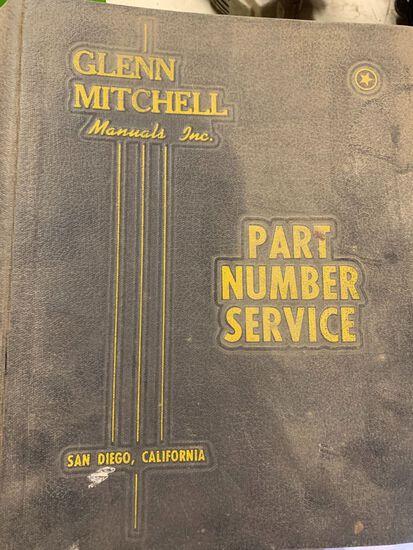 (3) Glenn Mitchell Part Service Guides