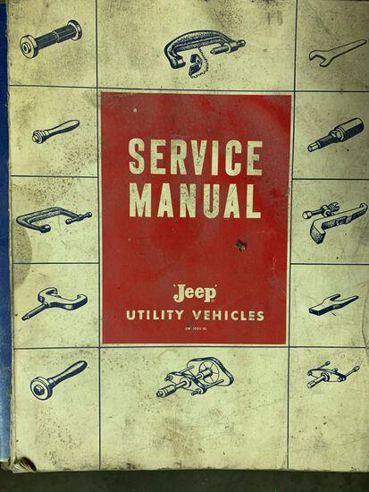 (3) Jeep Service Manuals