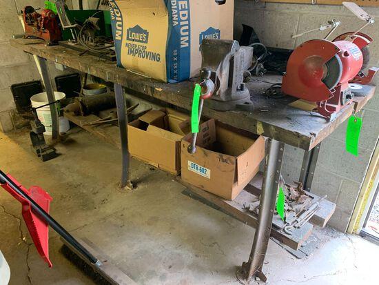 Wooden Top Workbench
