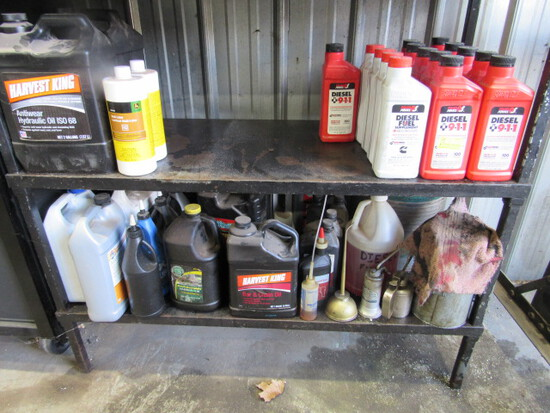 (14) Diesel 911 & Assorted Oils and Fluids