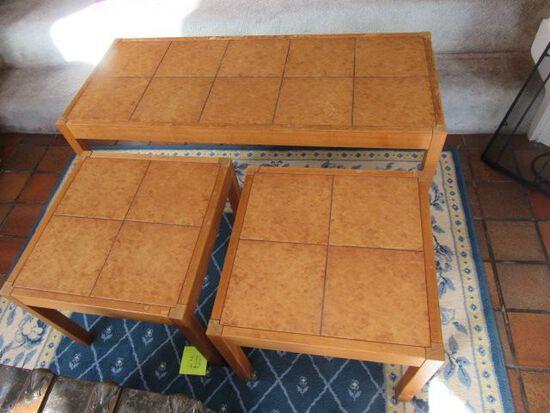 (3) Piece Coffee Table Set