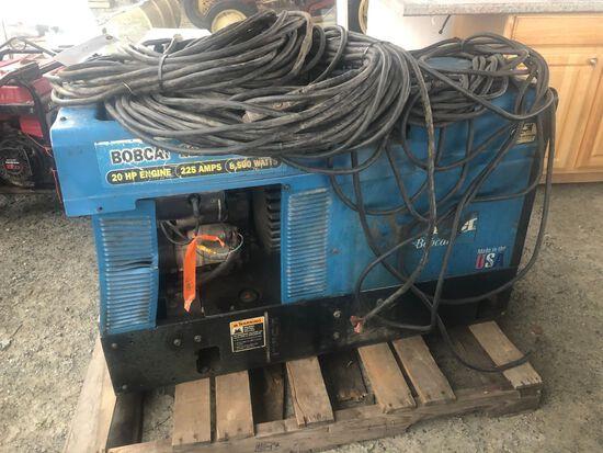 Miller Bobcat 225NT Gas Powered Welder/Generator