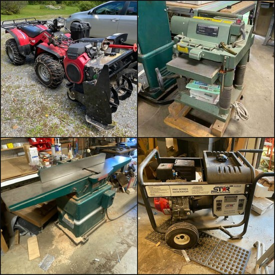 Woodworking Machinery, Contractor Tools & Vehicles