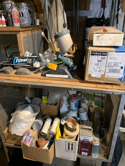 Lot of Automotive Painting Supplies & Paint