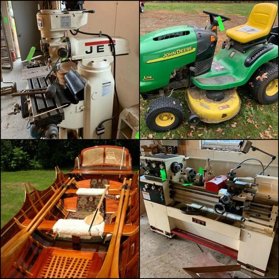 Thames Skiff, Veneer, Woodworking Tools & Equip.