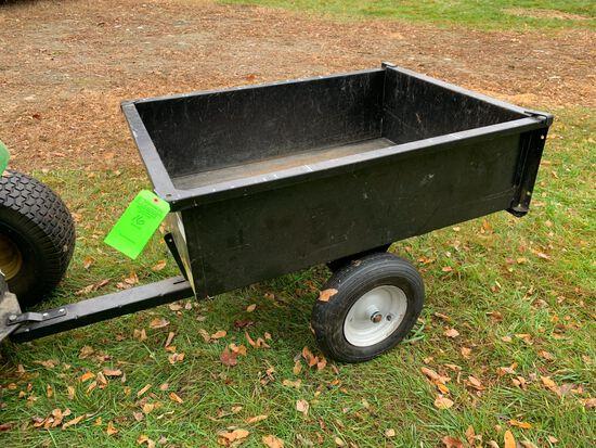 """44"""" x 33"""" Single Axle Garden Tractor Cart"""
