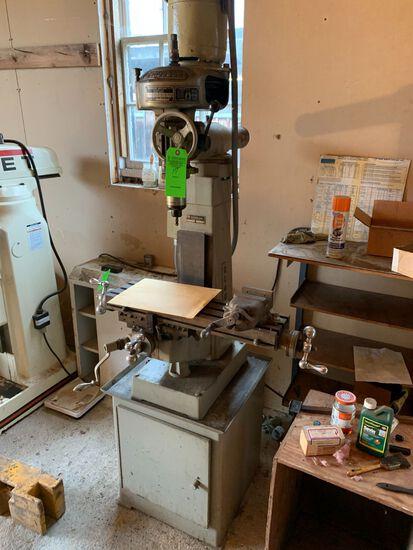 Bridgeport Clausing 8520 Vertical Milling Machine