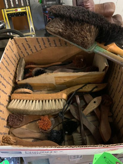 (27) Shoe Brushes With Handles